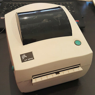 USED Zebra LP2844 Direct Thermal Barcode Shipping Label Receipt USB Printer 873