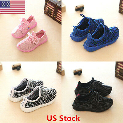 US Children Kids Boys Child Sports Running Shoe Kids Boys Girls Kid Casual Shoes