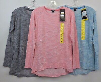 New Champion Women's Long Sleeve Crewneck Performance Pullover Top Variety
