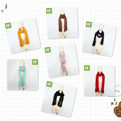 KBB Variety of Colors for Fashionable Winter Cozy Knit Lace-Design Scarf