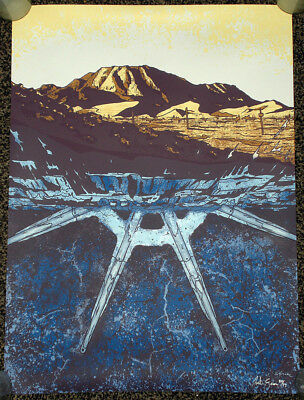 """LOST """"The EXIT"""" Poster ART PRINT Frozen Donkey Wheel SIGNED #20/77 JUSTIN SENA"""