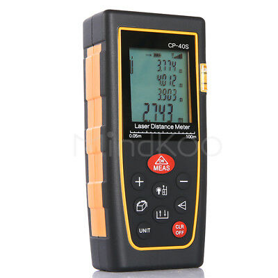 2018 40M/ Digital LCD Laser Distance Meter Range Finder Measure Diastimeter