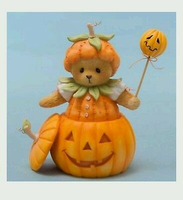 Cherished Teddies 4047367 You're The Prettiest Punkin In The Patch Figurine