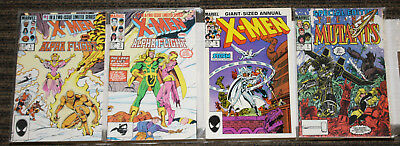 Marvel X-Men The Asgard Saga SET - Alpha Flight #1-2 New Mutants Spcl #1 Ann #9