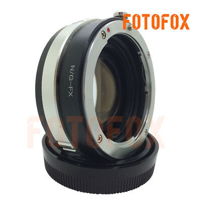 Nikon G AI AF-S Lens to Fuji FX X-Pro1 X-E2 Focal Reducer Speed Booster Adapter
