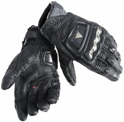 DAINESE 4 STROKE EVO Black Motorcycle Gloves ALL SIZES
