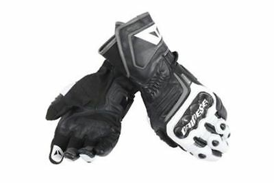 DAINESE CARBON D1 Long Gloves Black White Motorcycle Gloves ALL SIZES
