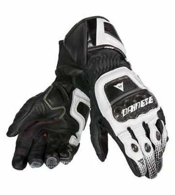 DAINESE DRUIDS ST Black White Motorcycle Gloves ALL SIZES