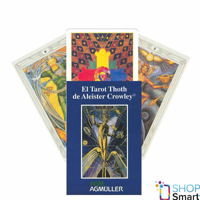 Spanish Cowley Thoth Tarot Deck Cards Esoteric Telling Us Games Systems