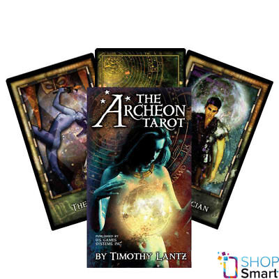 The Archeon Premier Edition Tarot Deck Cars Esoteric Telling New