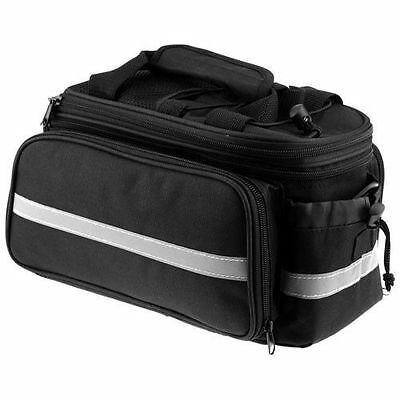 Bicycle, Bike, Cycle Rear Rack Bag - Removable Carry, Carrier Saddle Bag Pannier