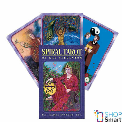 Spiral Tarot Premier Edition Deck Cards Esoteric Telling Us Games Systems