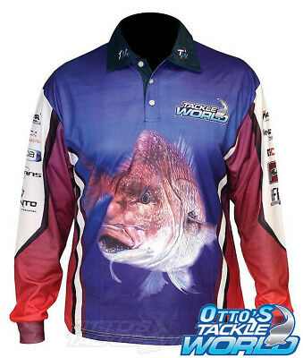 Tackle World 2015 Snapper Shirt - CLEARANCE - Brand New at Otto's Tackle World