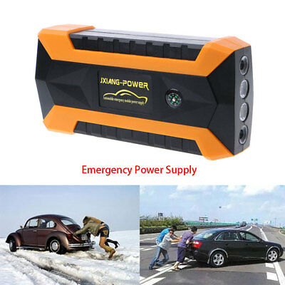 89800mAh 12V 4 USB Car Jump Starter Pack Booster Charger Battery Power Bank