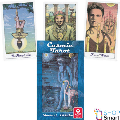 Cosmic Tarot Deck Cards Norbert Losche Esoteric Telling Agm New