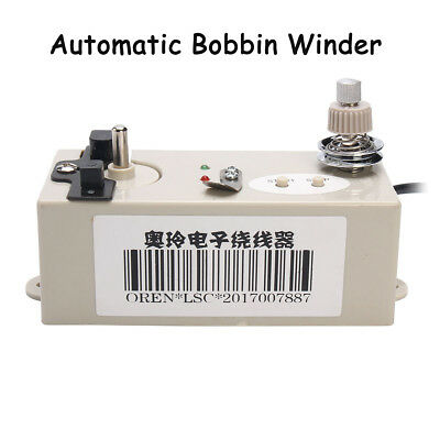 220V Automatic Bobbin Winder For Sewing Machine Bobbin Winding Sewing Machines