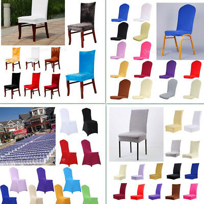 Seat Covers Kitchen Bar Dining Chair Cover Hotel Restaurant Wedding Part Decor