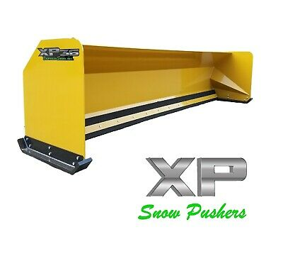 14' JRB 416 Snow pusher box for backhoe loader Express Snow Pusher Local Pick up
