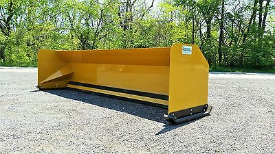 12' Snow pusher boxes FREE SHIPPING-RTR backhoe loader snow plow Express Steel