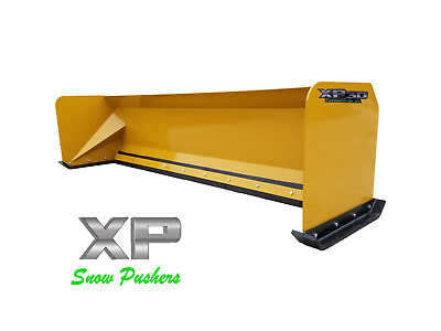 10' Snow pusher boxes skid steer Bobcat Case Express Snow Pusher LOCAL PICK UP