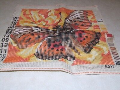 Butterfly Tapestry Canvas 5077