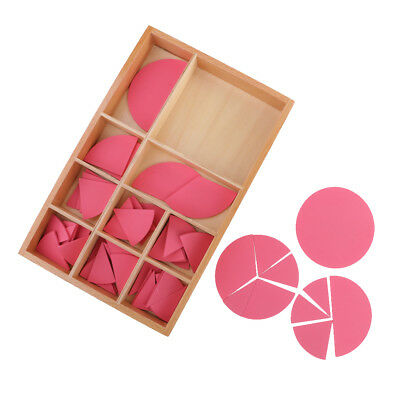 Montessori Educational Combination Circles Kids Baby Sensory Wooden Toy Gift