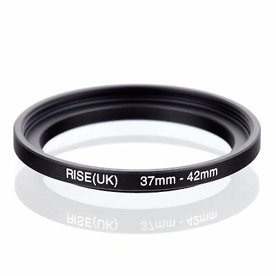 RISE(UK) 37-42mm Step-Up Stepping Metal Lens Adapter Filter Ring Camera Adapter