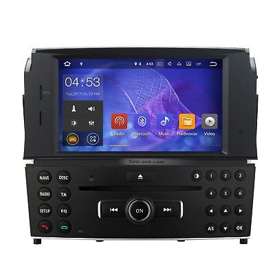 Android 7.1 Car Radio GPS Navi DVD Player for Mercedes Benz C Class W204 C180
