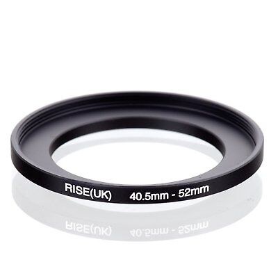 RISE(UK) 40.5-52mm 40.5-52 Step-Up Metal Lens Adapter Filter Ring Camera Adapter