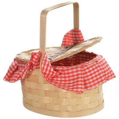 FANCY DRESS Red Riding Hood Basket Purse