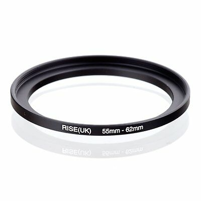 RISE(UK) 55-62MM 55 MM- 62 MM 55 to 62 Step Up Ring Filter Adapter