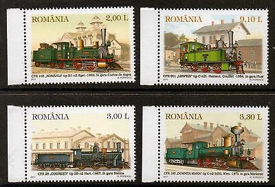 Romania 2011 Trains  Mnh