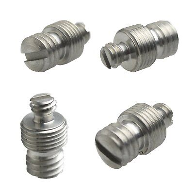 "1/4"" Female to 3/8"" Male to M10 Threaded screw Adapter for Tripod/Monopod 53#"