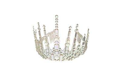 FANCY DRESS Womens Frozen Ice Fairy Icicle Crown