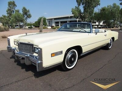 1976 Cadillac Eldorado Convertible 1976 Cadillac Eldorado Convertible - Stunning, All Original Car - Must See!!