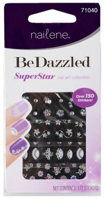 Nailene BeDazzled Superstar Nail Art Collection Over 150 Stickers