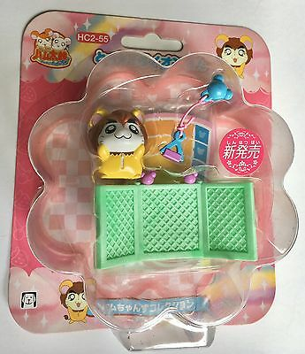 "Hamtaro Japanese Hamutaro  ""Lion Ham"" Hamster Figure & Accessories Set (HC2-55)"
