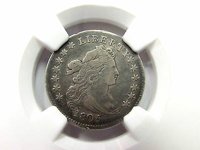 1805 Draped Bust Dime 4 Berries Variety Ngc Vf 30 10C Jr 2