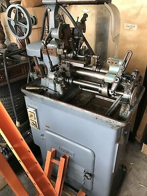 Used Traub Screw Machine, Held Power at last use, good for parts, Make an Offer!