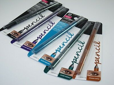 Maybelline Lasting Drama By Eyestudio Waterproof Gel Pencil, You Choose!