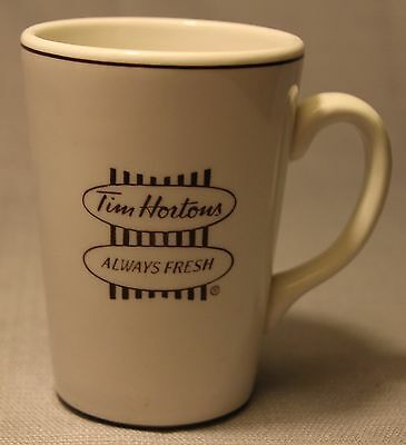 Vintage Tim Hortons Always Fresh Coffee Tea Mug Cup Steelite England +