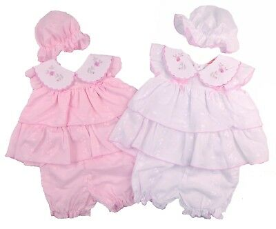Baby Girls Baby Dress And Pants Tiny Baby And Newborn Ideal For Reborn Doll