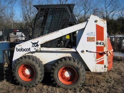 bobcat skid steer 843, used
