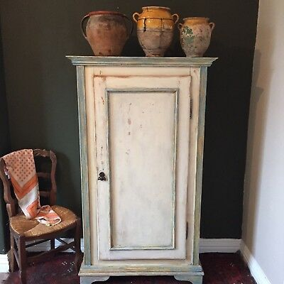 Vintage French country Armoire/linen press