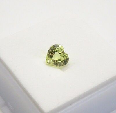 Beautiful Chrysoberyl 1.32ct - 7mm - Heart Shape - Chrysoberyl Loose Gemstone