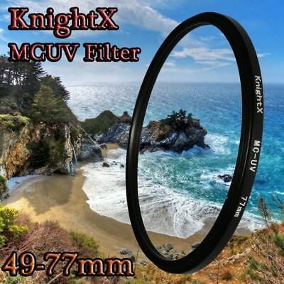 UV MM Filter for Nikon Canon EOS 6D 100D 70D 700D 5D D5200 lens 1200d 52mm 58mm