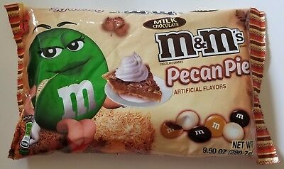 New 2017 Harvest Pecan Pie M&m's Chocolate Candies Free Worldwide Shipping