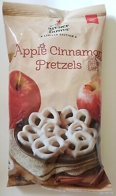 NEW Archer Farms Apple Cinnamon Pretzels Limited Edition FREE WORLDWIDE SHIPPING