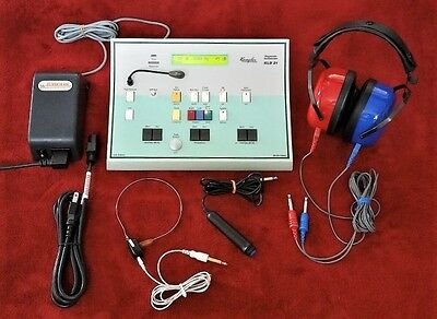 Interacoustic Kamplex   Diagnostic Audiometer Kld 21 With Audiocups