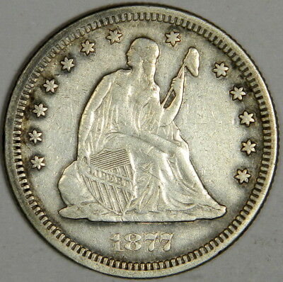 1877 Seated Liberty Quarter - Very Fine Priced Right!